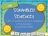 Scrambled Sentences - June
