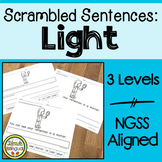 Scrambled Sentences About Light NGSS Aligned