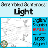 Scrambled Sentences: Light Spanish/English bundle