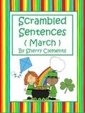 March Scrambled Sentences