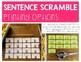 Scrambled Sentences | Martin Luther King, Jr. FREEBIE | Building Sentences
