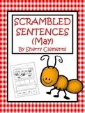 May Scrambled Sentences