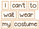 Scrambled Sentences - October