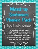 Scrambled Sentences Phonics Pack
