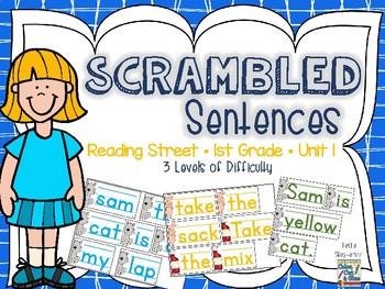 Scrambled Sentences - Reading Street