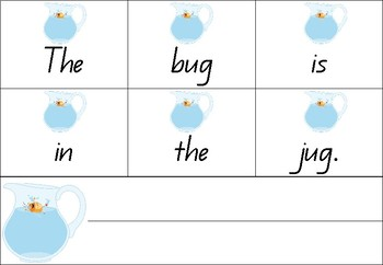 Scrambled Sentences - Rhyming Sentences