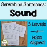 Scrambled Sentences about Sound