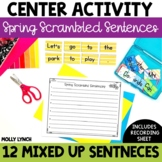 Scrambled Sentences {Spring Edition}