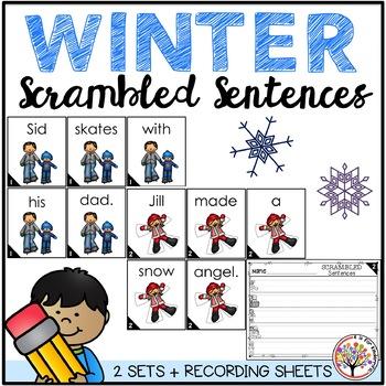 Scrambled Sentences - WINTER