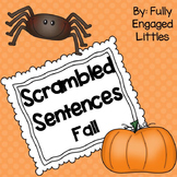 Scrambled Sentences Fall Writing Center