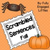Scrambled Sentences Fall Writing Center