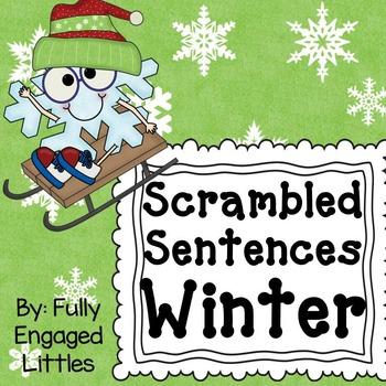 Scrambled Sentences Winter