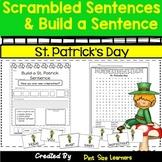 Scrambled Sentences | Building Sentences | St. Patrick's Day | March