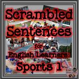 ESL Scrambled Sentences - Sports 1