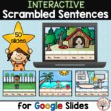 Scrambled Sentences for Google Slides™   Distance Learning