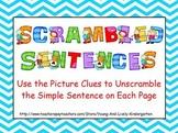Scrambled Sentences for Promethean Board