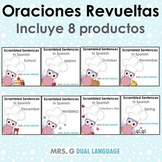 Scrambled Sentences in Spanish BUNDLE