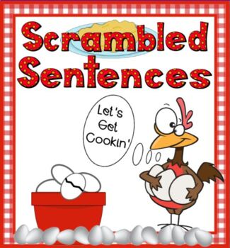 Scrambled Sentences with High Frequency Words