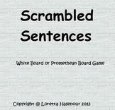 Scrambled Sentences