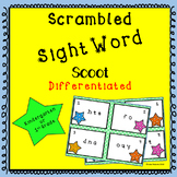 Sight Word Scoot--Kindergarten and 1st Grades
