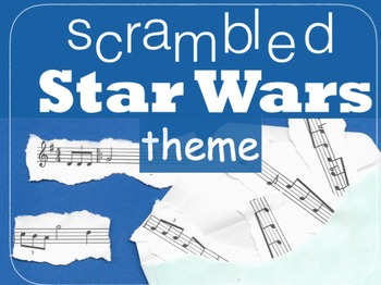Scrambled Star Wars Theme - triplets