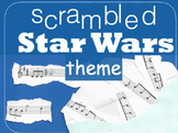 Scrambled Star Wars Theme - triplets