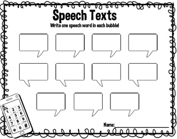 Scrambled Texts Articulation:  QR Codes for Speech Therapy (R Edition)