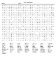 Scrambled United States Crossword Puzzle & Word Search with KEYS