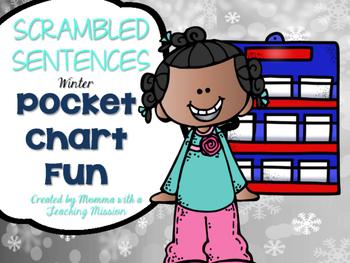 Scrambled Winter Sentences