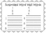 Scrambled Word Template