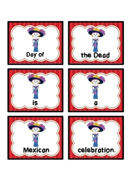 Scrambled sentences: Day of the Dead