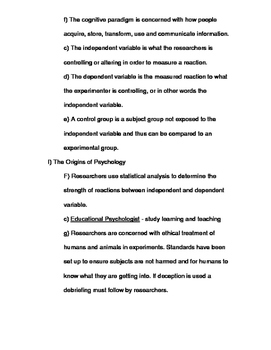 Scrambled up Psychologist