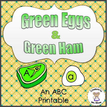 Phonics-Alphabet Letters - Green Ham and Eggs