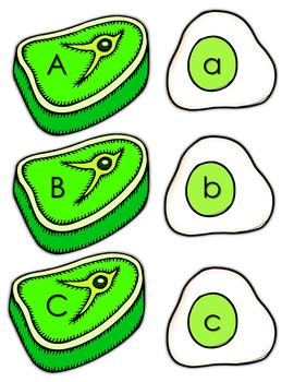 Phonics- Alphabet Letters - Green Ham and Eggs