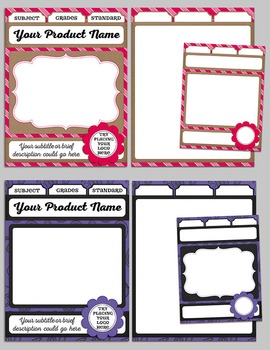 Scrap-A-Product CU Template and Graphics {Package A}