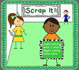 Scrap It! (Subtracting 2 and 3 digit numbers)