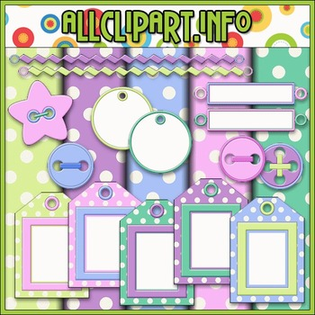 Scrap Stuff 2 Commercial Use Clip Art Kit - Alice Smith Clip Art