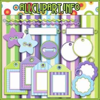 Scrap Stuff 3 Commercial Use Clip Art Kit - Alice Smith Clip Art