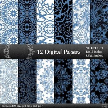 Scrapbook 12x12 + 8.5x11 Inch  Decoration Scrapbook Suppli