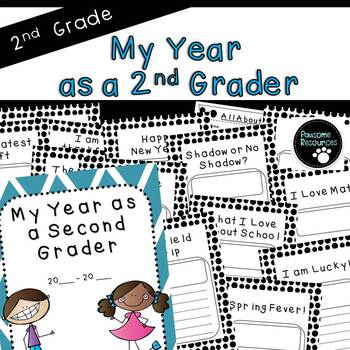 Scrapbook: My Year As a Second Grader