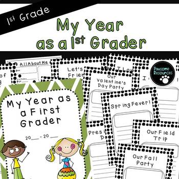 Scrapbook: My Year As a First Grader