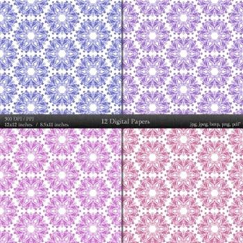 Scrapbook Background  Decoration Scrapbooking Set Album Embellishment Book Retro