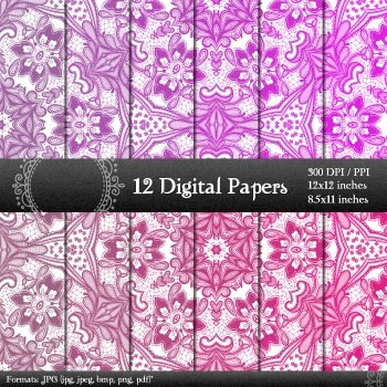Scrapbook Background Jpg Lot Scrapbooking Set Embroidery Paper Layout Book Lace