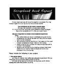 Scrapbook Book Report Guide and Rubric
