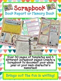 DIGITAL Scrapbook Book Report or Memory Book-Open House or End of Year Project