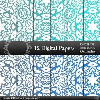 Scrapbook Clipart Scrapbook Digital Clip Journal Background Texture Jpeg Retro