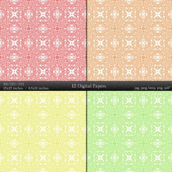 Scrapbook Graphics Making Collag Scrapbooking Background Digital Template Flower