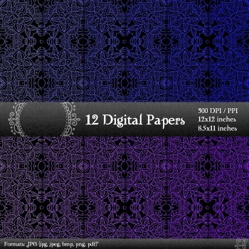 Scrapbook Journal Collag  Decoration Album Graphics Printable Paper Sheet Cover