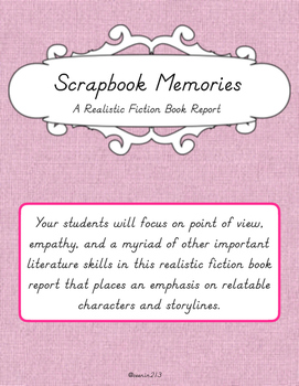 Scrapbook Memories Book Report