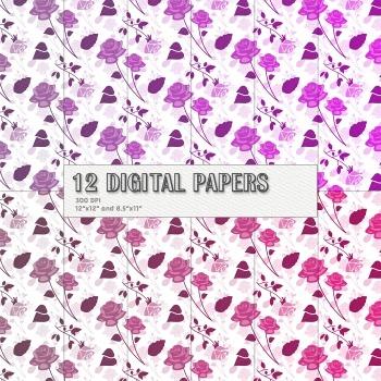 Scrapbook Paper 12 X 12 8 5 X 11 Digital Celebration Event Celebrate Happy Fun